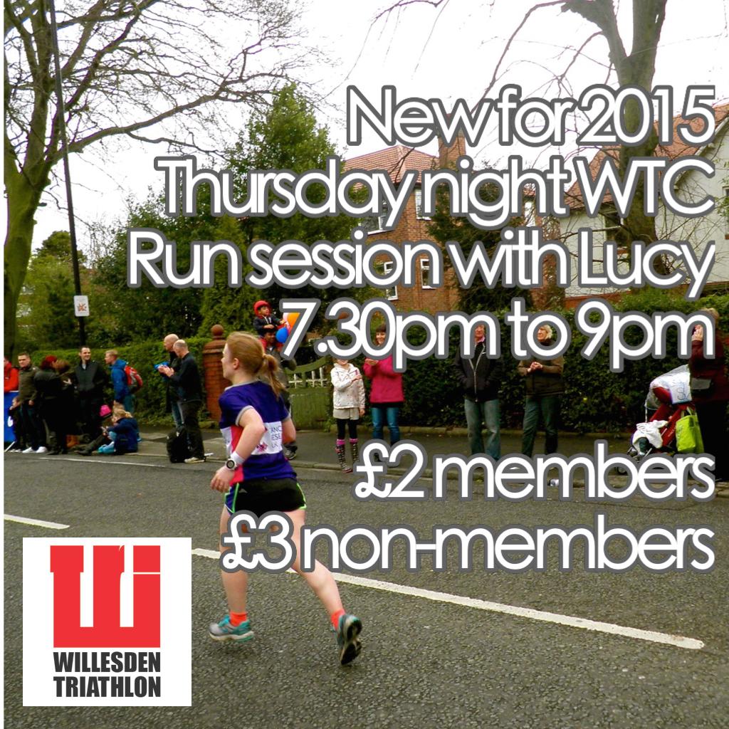 Thursday night run sessions